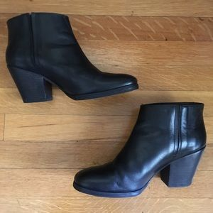 Rachel Comey Black Leather Mars Boots 7.5